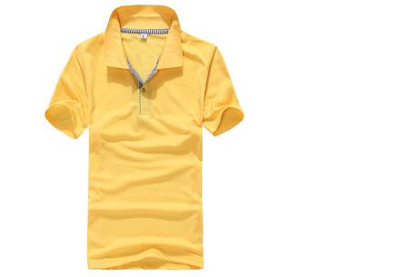 Polo's voor heren - #2 - Geel - Maat L/XL