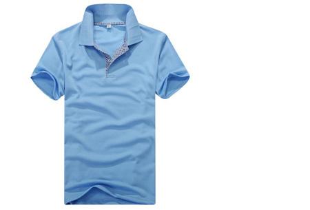 Polo's voor heren | SUPER AFPRIJZING - Slechts 7,95 per poloshirt!  #2 - Lichtblauw
