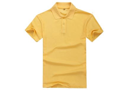 Polo's voor heren - #3 - Geel - Maat M/L