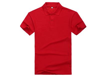 Polo's voor heren - #3 - Rood - Maat L/XL