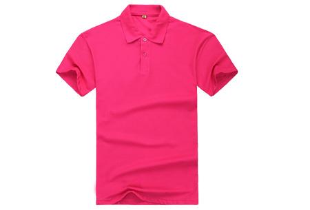 Polo's voor heren - #3 - Roze - Maat L/XL