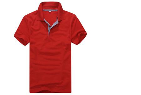 Polo's voor heren - #2 - Rood - Maat M/L