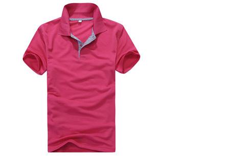 Polo's voor heren - #2 - Roze - Maat L/XL
