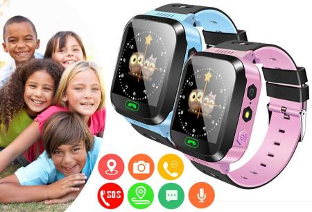 GPS smartwatch voor kinderen nu met hoge korting