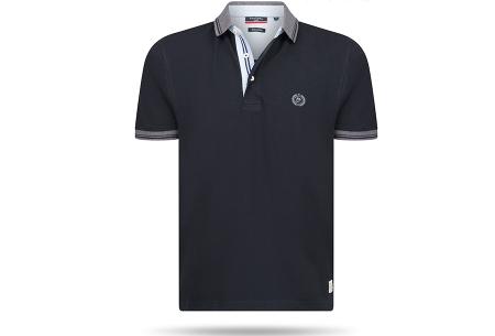 Pierre Cardin herenpolo sale | Topkwaliteit polo's nu voor een extreem lage prijs Zwart