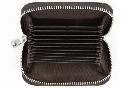 Mini portemonnee | Compacte dames portefeuille van PU leder met RFID anti-skim beveiliging