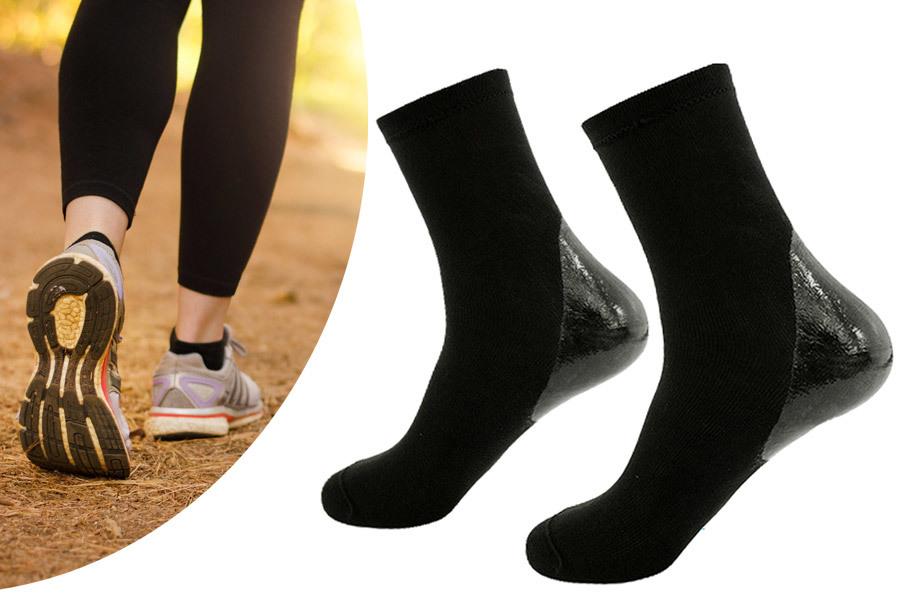 Solelution sokken met gel hiel Maat L/XL - 40-48