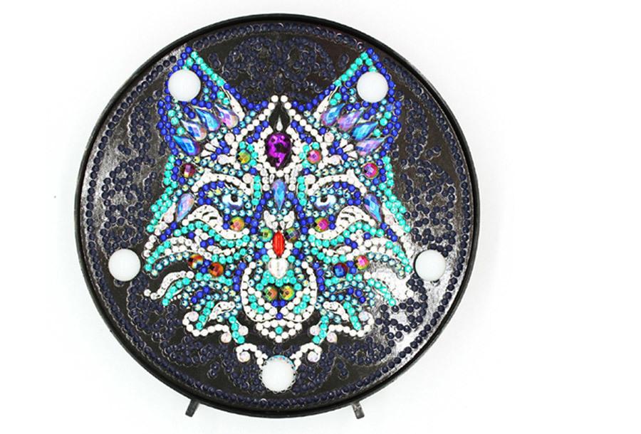 Diamond painting decoratie met LED verlichting E