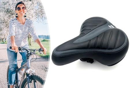 FlinQ gel fietszadel | Eindeloos fietsplezier zonder zadelpijn!
