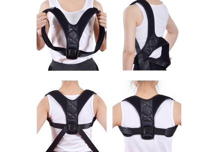 Corrigerende rugband | Geeft extra ondersteuning bij rugklachten en vermoeidheid