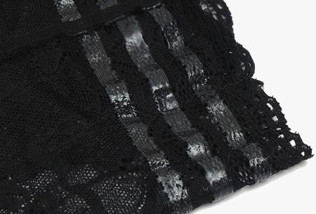Kanten anti-schuur kousenband met telefoonvak | Met anti-slip strips