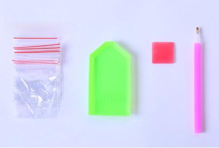 Diamond painting sleutelhangers | Compleet doe-het-zelf pakket met 3, 4, 5 of 6 sleutelhangers - Kies uit 15 sets