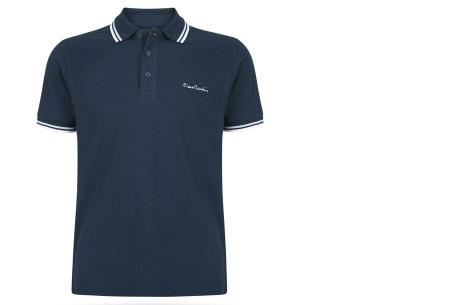 Pierre Cardin polo's voor heren in diverse kleuren | Topkwaliteit van 100% katoen - Extra afgeprijsd, OP=OP! A - Navy