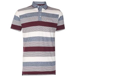 Pierre Cardin polo's voor heren in diverse kleuren | Topkwaliteit van 100% katoen - Extra afgeprijsd, OP=OP! B - Burgundy