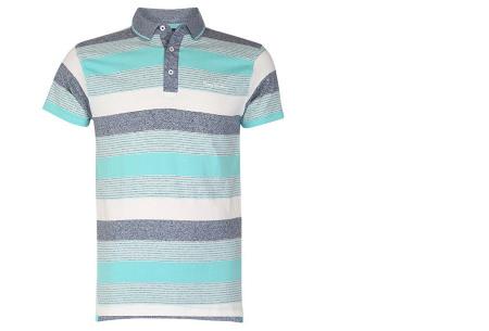 Pierre Cardin polo's voor heren in diverse kleuren | Topkwaliteit van 100% katoen - Extra afgeprijsd, OP=OP! B - Mint