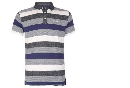 Pierre Cardin polo's voor heren in diverse kleuren | Topkwaliteit van 100% katoen - Extra afgeprijsd, OP=OP! B - Navy