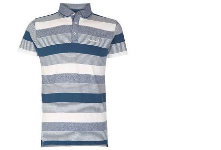 Pierre Cardin polo's voor heren in diverse kleuren | Topkwaliteit van 100% katoen - Extra afgeprijsd, OP=OP! B - Teal