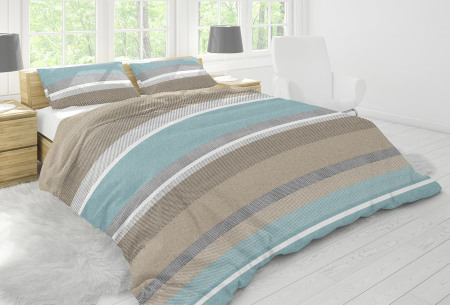 Nightlife dekbedovertrek in diverse designs | Topkwaliteit katoenmix overtrekken voor een bodemprijs blushing blue
