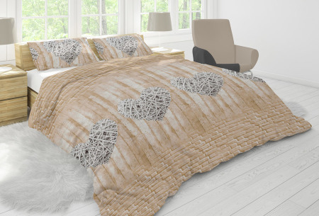 Nightlife dekbedovertrek in diverse designs | Topkwaliteit katoenmix overtrekken voor een bodemprijs maison sand