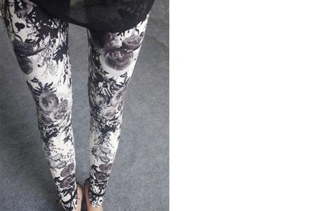 Legging met print voor dames | Keuze uit 12 verschillende prints J