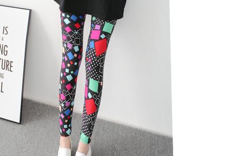 Legging met print voor dames | Keuze uit 12 verschillende prints K