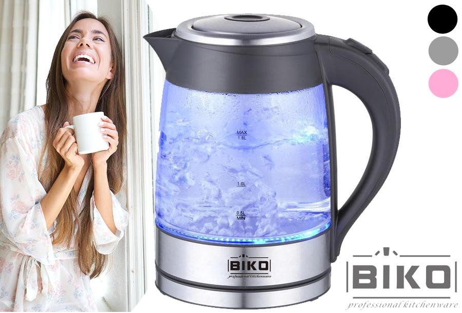 77% korting Biko LED waterkoker