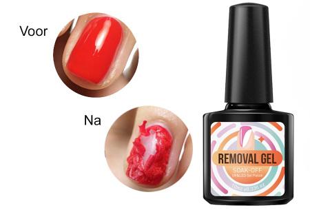 Nagellak remover gel | verwijdert verschillende soorten lak binnen 2 minuten van je nagels!