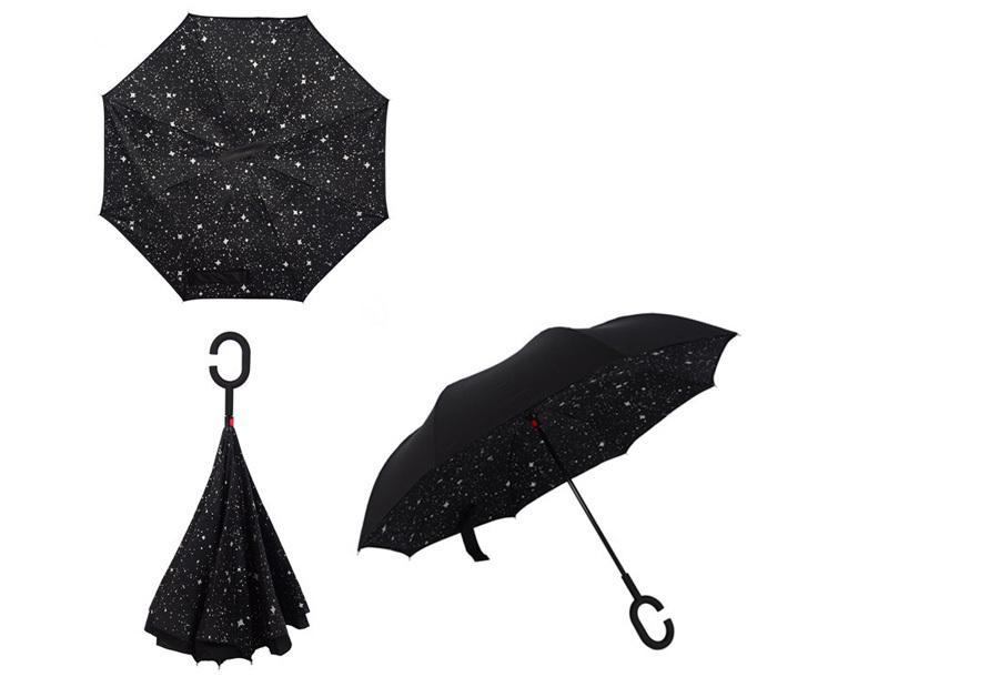 Omkeerbare paraplu A