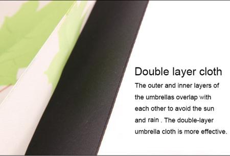 Omkeerbare paraplu | Met deze stormparaplu ben je altijd voorbereid op de regen!