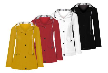 Gekleurde dames regenjas | Bescherm jezelf op een fashionable manier tegen de regen - in 10 kleuren