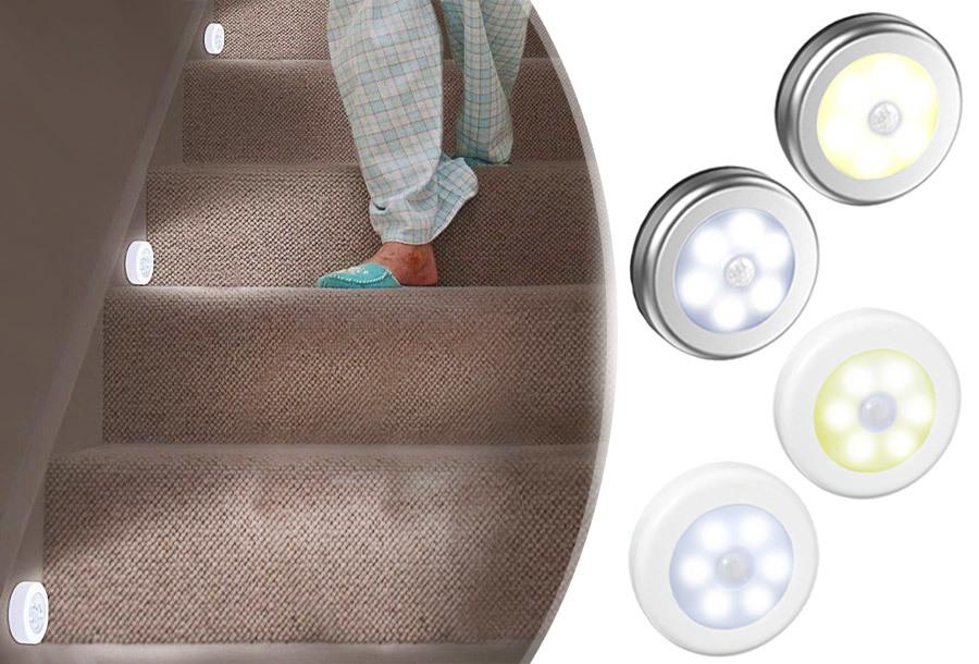Dagaanbieding - Draadloos (nacht)lampje met bewegingssensor dagelijkse koopjes
