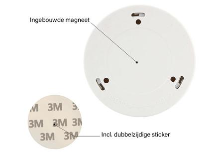 Draadloos (nacht)lampje met bewegingssensor | Keuze uit één losse of een set van 2, 4, 6 of 8 stuks