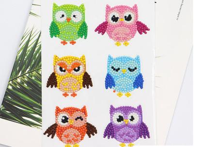 Diamond painting stickers | Versier je telefoonhoesje, agenda of mok met deze leuke DIY stickers! #D