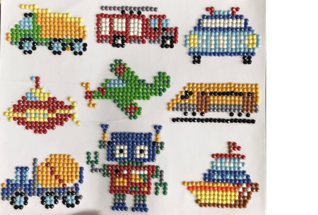 Diamond painting stickers | Versier je telefoonhoesje, agenda of mok met deze leuke DIY stickers! #N