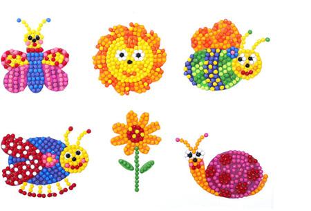 Diamond painting stickers | Versier je telefoonhoesje, agenda of mok met deze leuke DIY stickers! #I