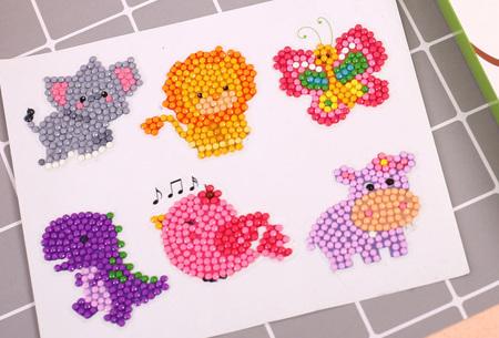 Diamond painting stickers | Versier je telefoonhoesje, agenda of mok met deze leuke DIY stickers! #H
