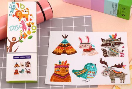 Diamond painting stickers | Versier je telefoonhoesje, agenda of mok met deze leuke DIY stickers! #M