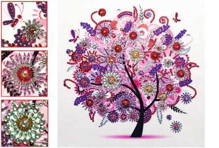 Diamond painting schilderij | Half schilderij, halve Diamond painting voor een bijzonder 3D effect! #8