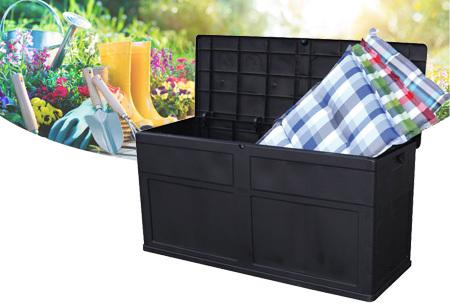 Opbergbox tuin 320 liter - nu in de aanbieding met korting