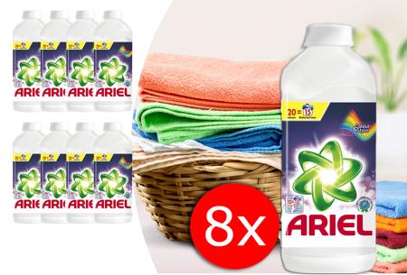Ariel vloeibaar wasmiddel nu extra voordelig