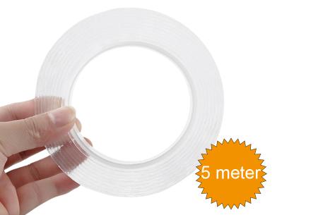 Extreem stevig dubbelzijdig tape | Multifunctioneel plakband voor overal in huis!