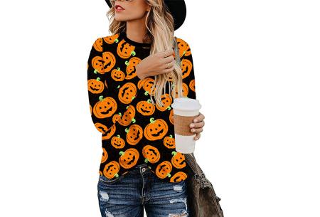 Sweater met print | Dames shirt met lange mouwen met o.a. tijger- , leger- of panterprint! #H