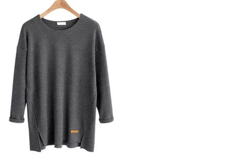 Soft sweater | Musthave basic trui voor dames in maar liefst 6 kleuren  grijs