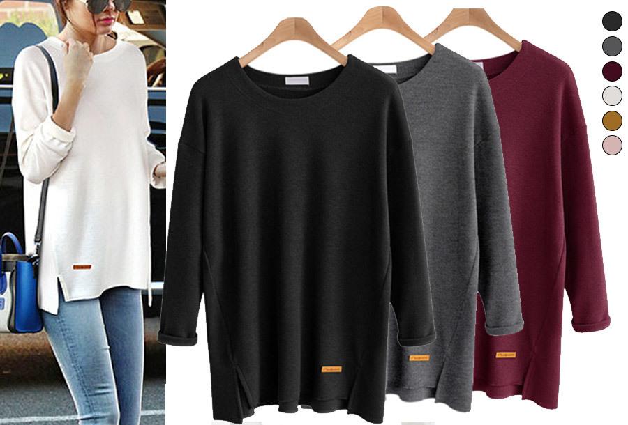 50% korting - Soft sweater <br/>EUR 19.99 <br/> <a href='https://tc.tradetracker.net/?c=24550&m=1018105&a=230468&u=https%3A%2F%2Fwww.vouchervandaag.nl%2Fsoft-sweater-trui-dames-basic-comfortabel' target='_blank'>bekijk product</a>
