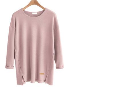 Soft sweater | Musthave basic trui voor dames in maar liefst 6 kleuren  roze
