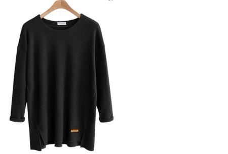 Soft sweater | Musthave basic trui voor dames in maar liefst 6 kleuren  zwart