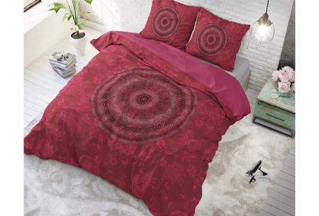 Katoenen dekbedovertrekken van Dreamhouse | In 9 hippe uitvoeringen Katinka - roze