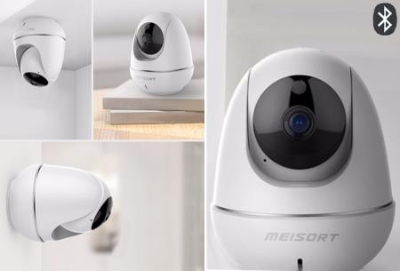 Parya HD IP camera   Beveiligingscamera met nachtvisie en bewegingsdetectie