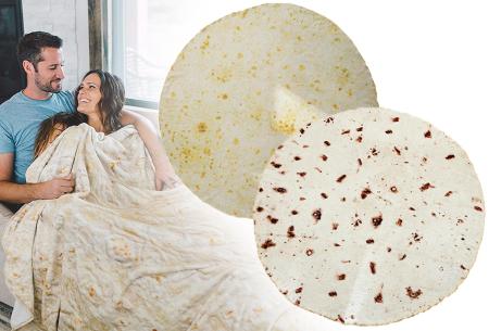 Burrito deken | Rol jezelf op in dit heerlijk zachte plaid!