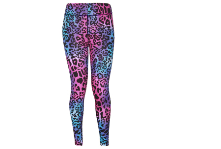 Panterprint sportlegging | Een musthave legging om binnen of buiten in te sporten Multicolor